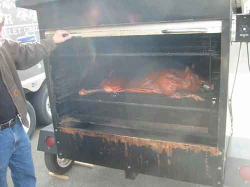 BBQ'd Hog